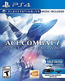 Jeu Ace Combat 7 sur PS4 (Frais de port inclus)