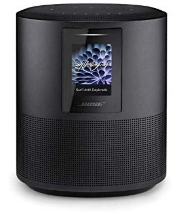 Enceinte connectée bluetooth Bose Home Speaker 500 - Noir (Compatible Alexa)