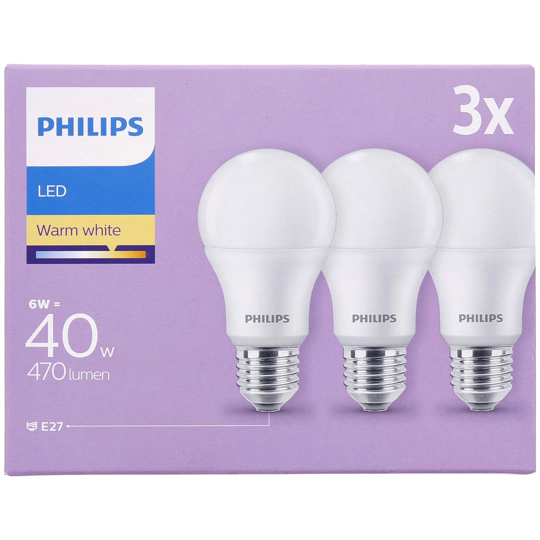 Set de 6 lampes LED Philips - E27