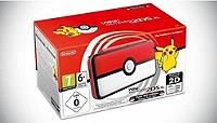 Console Nintendo 2DS XL Pokeball Édition Limitée (via 80€ sur la carte Leclerc)