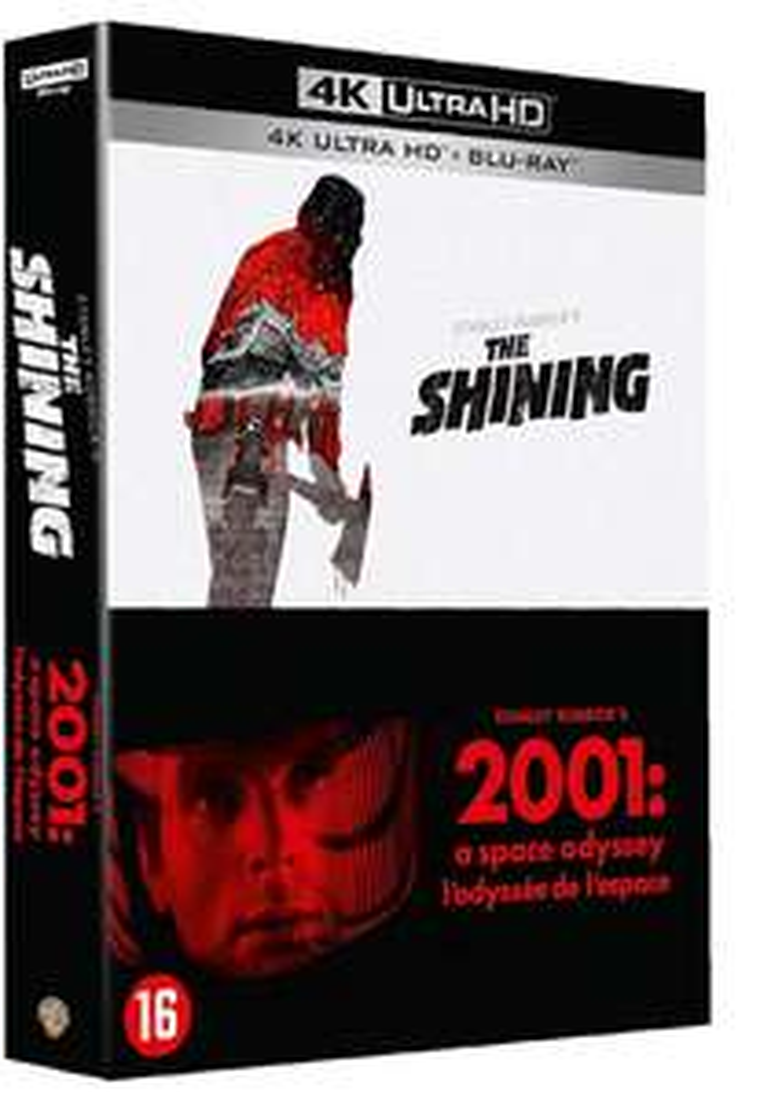 Coffret Blu-ray 4k : Kubrick Shining + 2001 l'odyssée de l'espace