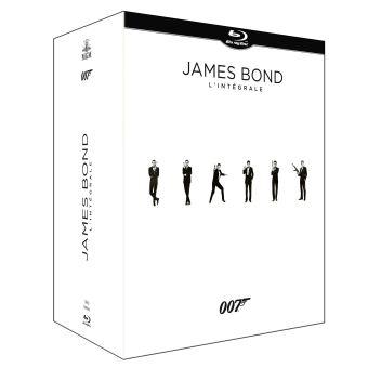 Coffret Blu-ray : James Bond 24 films