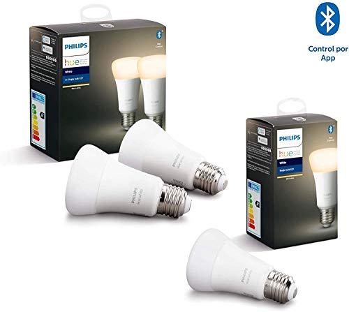 Lot de 3 ampoules Philips Hue White - Zigbee & Bluetooth, E27