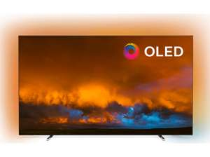 """TV 55"""" Philips 55OLED804 - 4K UHD, HDR10+, Dolby Vision, Android TV, Ambilight (Frontaliers suisse)"""
