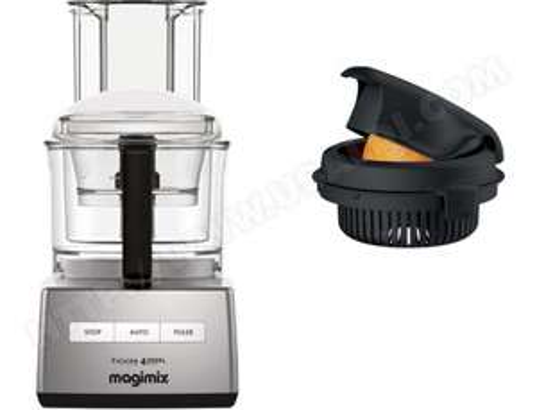 Robot Magimix CS 4200 XL Chrome Mat + Presse agrume