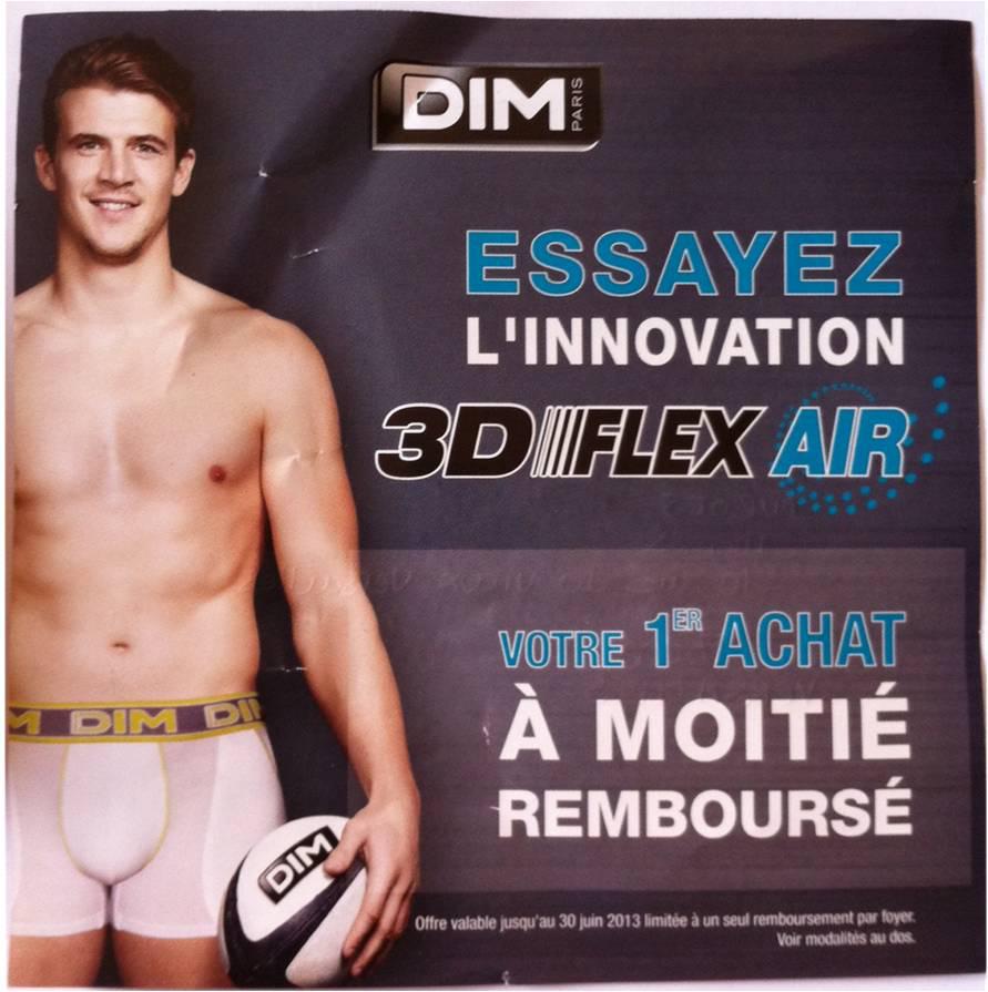 ODR DIM : -50% sur les Dim 3D Flex AIR