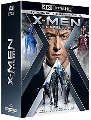 Coffret Blu-ray 4k : Prélogie X-men