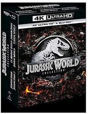 Coffret Blu-ray 4K UHD Jurassic World Collection