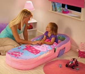 Mon premier lit d'appoint gonflable Peppa Pig - Ready Bed