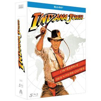 Coffret Blu-ray : Indiana Jones L'intégrale (4 films)