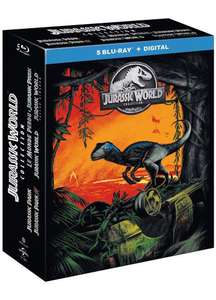 Coffret Blu-ray Jurassic Wolrd Collection - 5 films