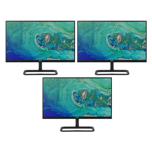 "Pack de 3 écrans PC 24"" Acer EB243YAbix - IPS, Full HD, 5 ms, AMD Freesync (257,97€ Avec le code CYBMO1460)"