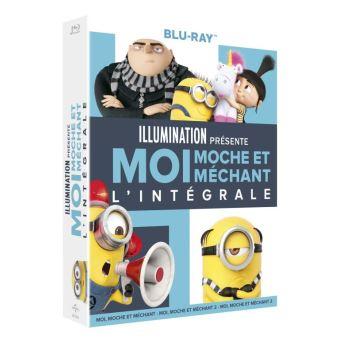 Coffret Blu-ray Moi, moche et méchant - L'intégrale