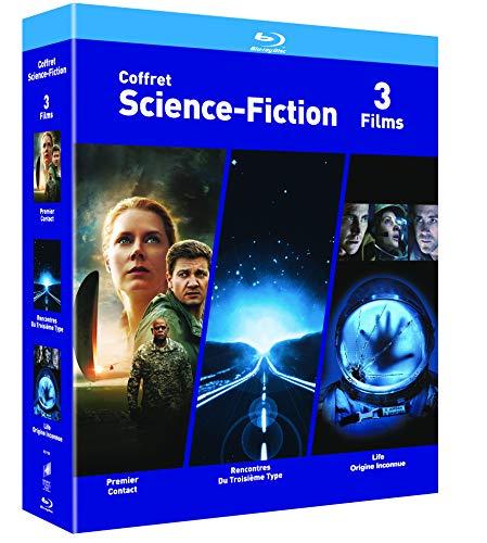 Coffet Blu-ray Science-Fiction 3 Films - Premier Contact / Rencontres du 3e Type / Life : Origne Inconnue