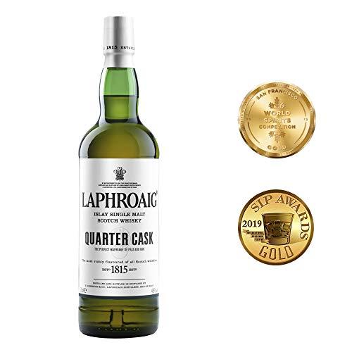 Bouteille de Single Malt Scotch Whisky Laphroaig Quarter Cask Islay - 0.70L