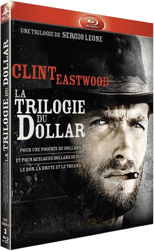 3 bluray: la trilogie du dollar Sergio Leone Clint Eastwood
