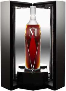 Bouteille de Whisky The Macallan Speyside 1824 Series M Lalique Decanter - 70 cl