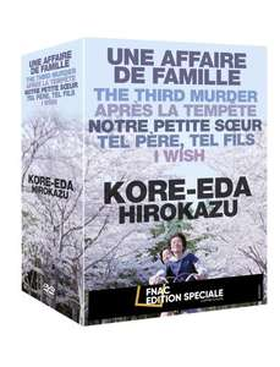 Coffret DVD Kore-eda - 6 films (+10€ sur le compte fidélité pour les adhérents)