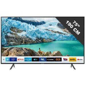 "TV 75"" Samsung UE75RU7175 - LED, UHD 4K, Smart TV, HDR10+"