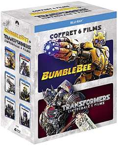 Coffret Blu-ray Transformers - L'intégrale des 5 films + Bumblebee
