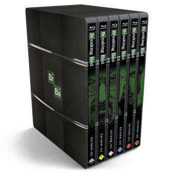Coffret Blu-Ray Steelbook Breaking Bad - L'Intégrale de la Série en Edition Limitée