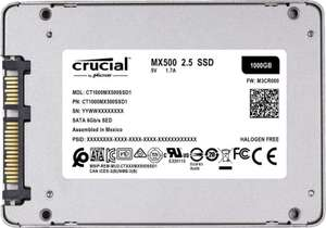 "SSD Interne 2,5"" Crucial MX500 - 1To (Frontaliers Allemagne)"