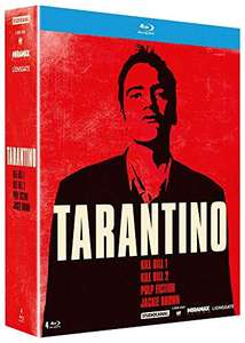 Coffret Blu-Ray Quentin Tarantino - Pulp Fiction + Jackie Brown + Kill Bill Vol. 1 & 2