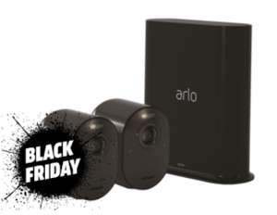 Kit de Surveillance Arlo avec 2 Caméras Ultra 4K (Frontaliers Suisse)