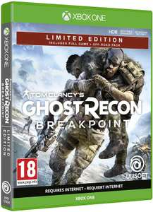 Ghost Recon: Breakpoint - Limited Edition sur Xbox One et PS4