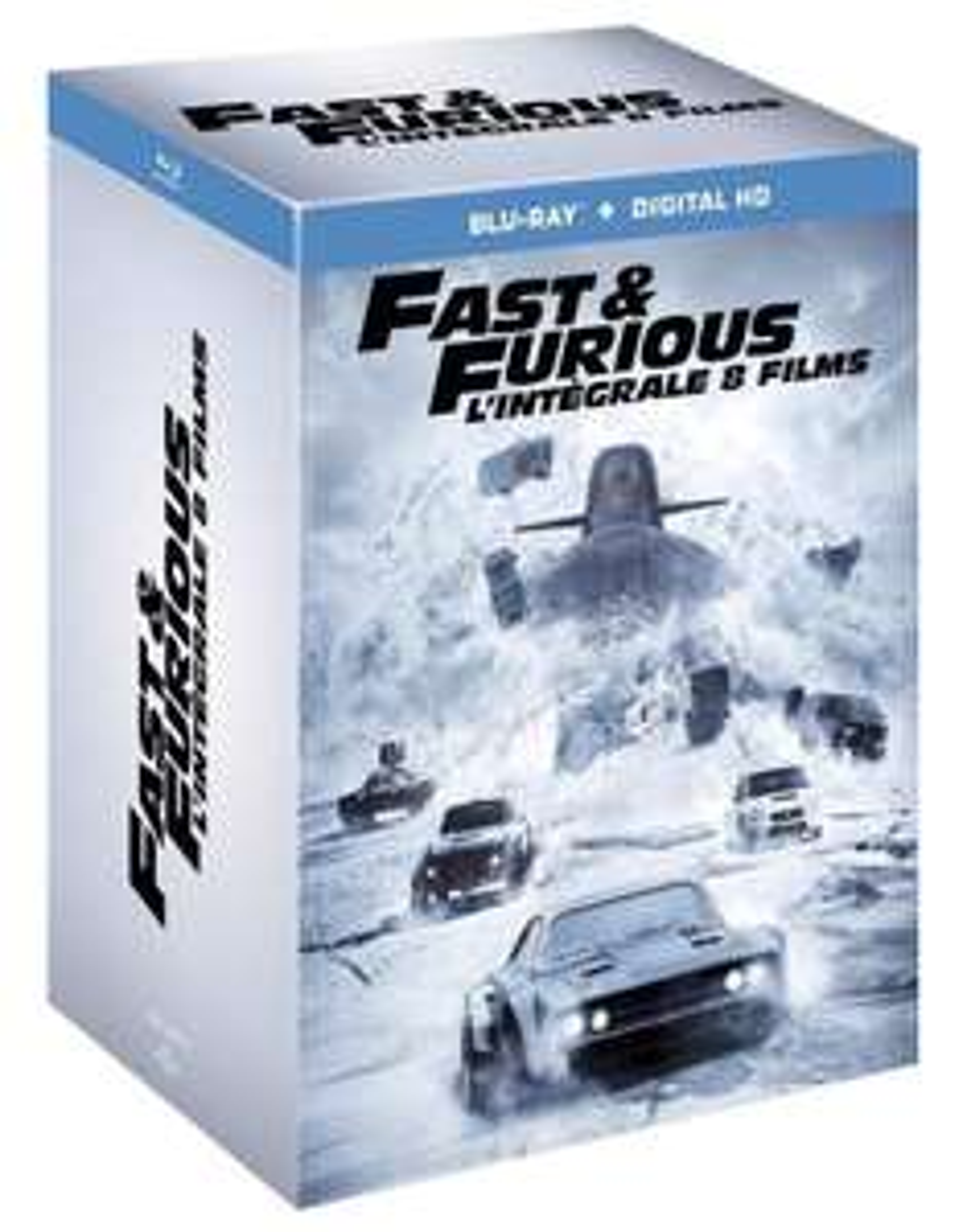 Coffret Blu-ray Fast and Furious - L'intégrale des 8 films
