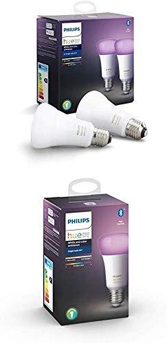 Lot de 3 Ampoules Connectées Philips Hue White & Color Ambiance E27