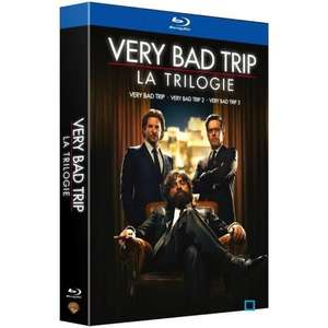 Coffret Blu-Ray : Trilogie Very Bad Trip