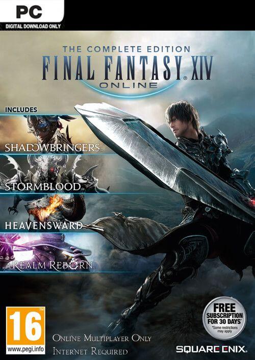 Final Fantasy XIV 14 Online Complete Edition sur PC (Dématérialisé - Mog Station)