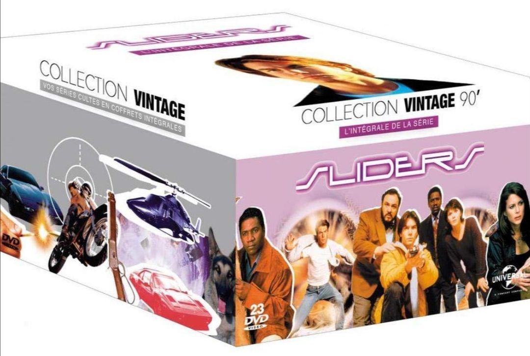 Coffret DVD : Sliders L'intégrale de la série