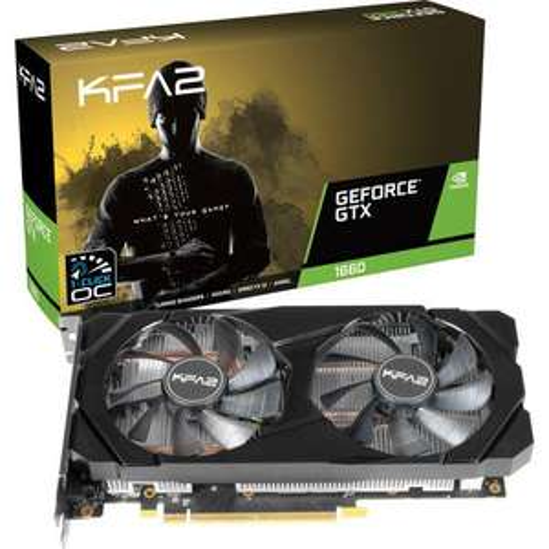 KFA2 GeForce GTX 1660 (1-Click OC) - 6 Go