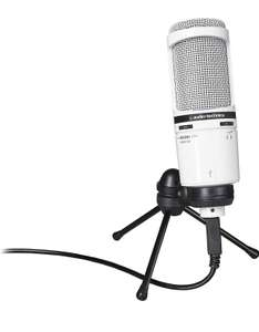 Microphone USB Audio-Technica AT2020USB+ - Blanc