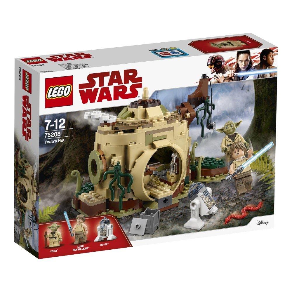 Jeu de construction Lego Star Wars - La hutte de Yoda (75208)