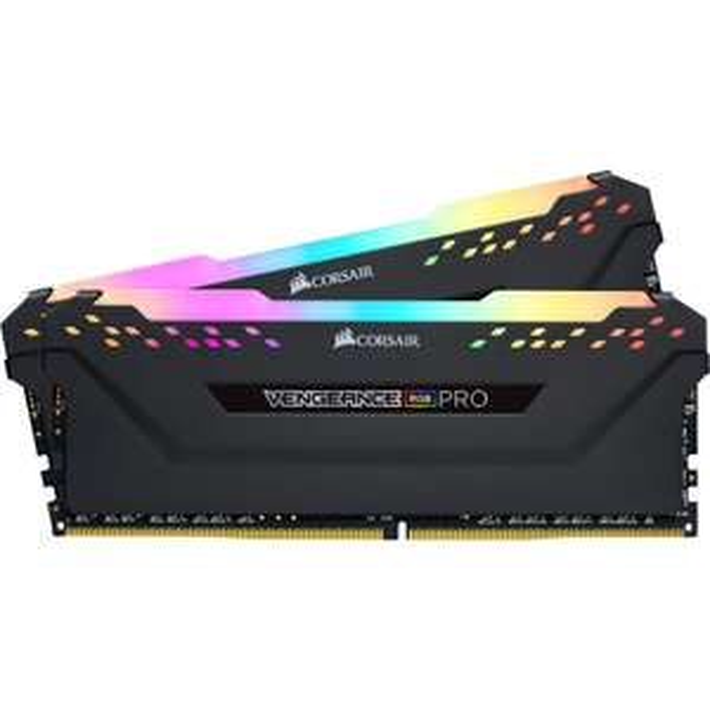 Kit Mémoire DDR4 Corsair Vengeance RGB Pro 16 Go (2 x 8 Go) - 3200 MHz, CL16