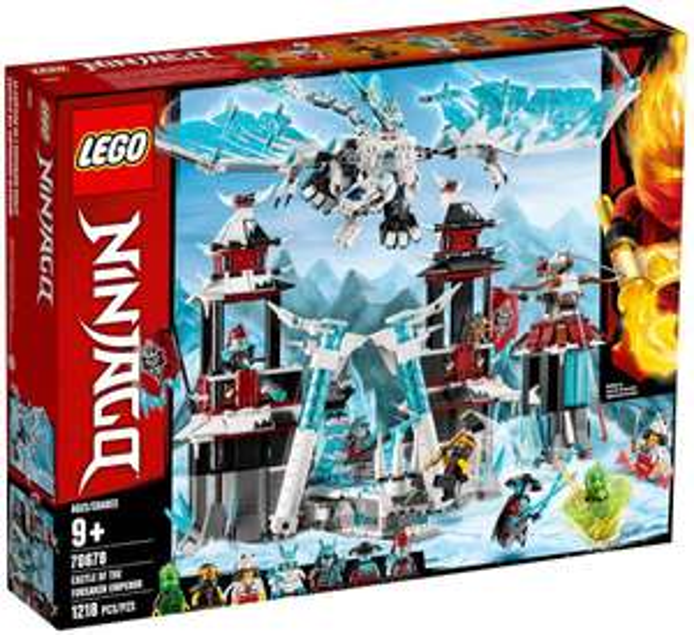 Jeu de construction Lego Ninjago - Le château de l'Empereur oublié (70678)