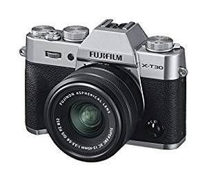 Appareil photo hybride Fujifilm X-T30 16619126 + Objectif C15-45mm PZ Silver