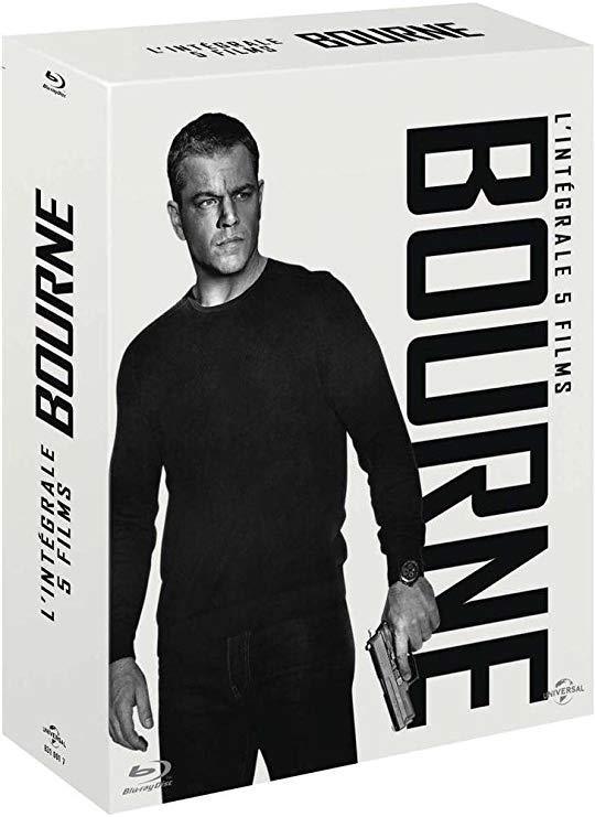 Jusqu'à 50% de réduction sur une sélection de Blu Ray & 4K - Ex: Coffret Blu-ray : L'intégrale Jason Bourne