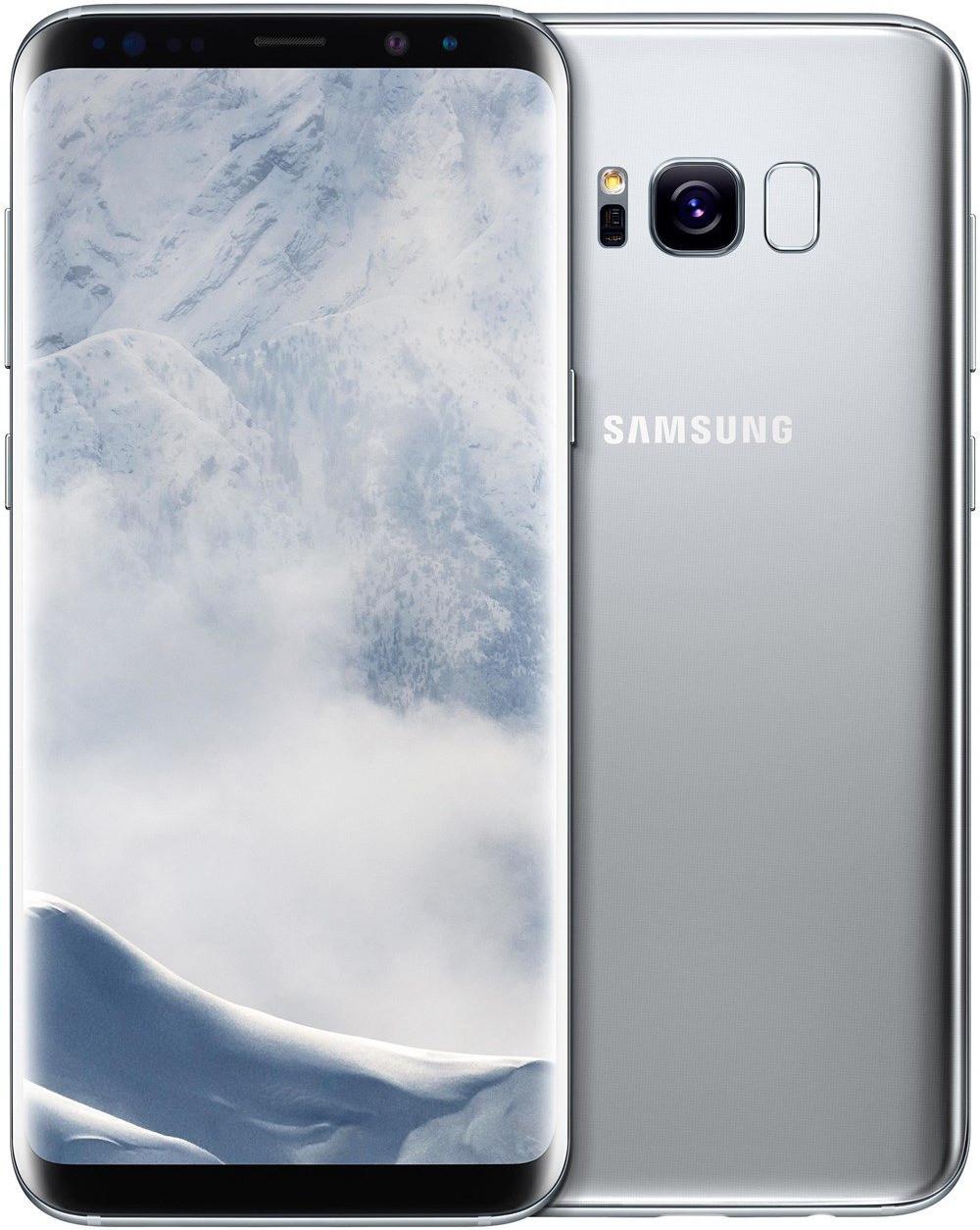 "Smartphone 6.2"" Samsung Galaxy S8+ - WQHD+, Exynos 8895, 4 Go de RAM, 64 Go, argent (+ 15.65€ en SuperPoints)"