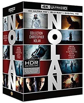 Coffret Blu-ray 4K Ultra HD : Christopher Nolan - 7 Films