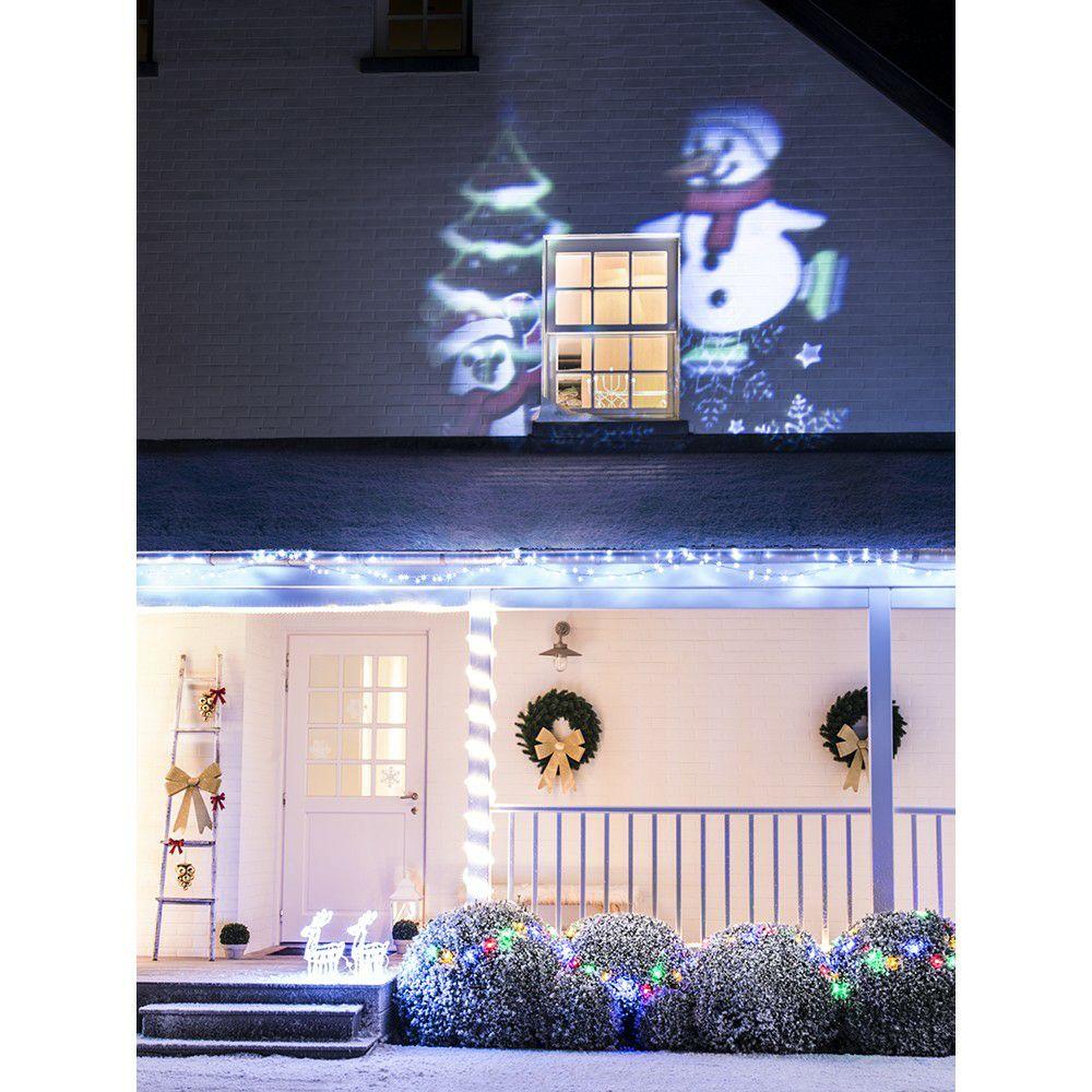 Projecteur lumineux LED - Motifs de Noël / hiver