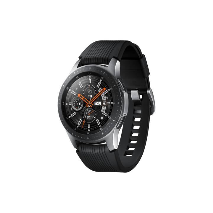 Montre Connectée Samsung Galaxy Watch - 46 mm, Argent (Frontaliers Suisse)