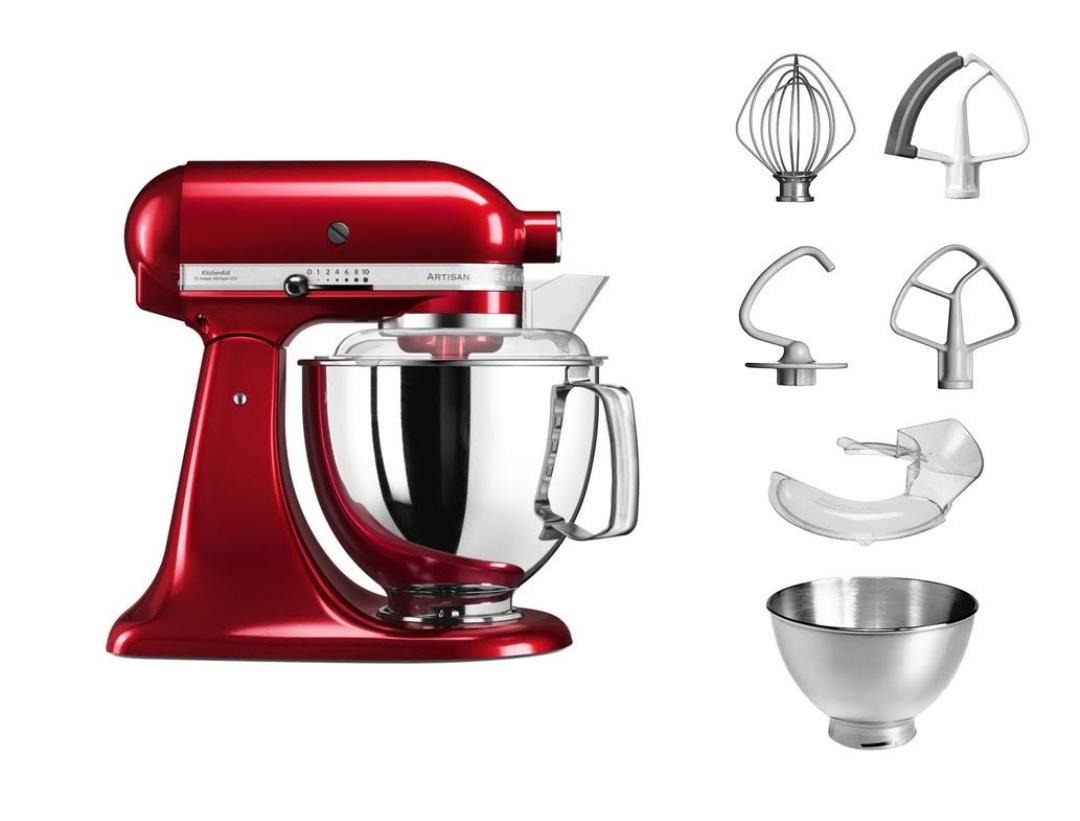 Robot KitchenAid Artisan 5KSM175 Pomme d'amour (378,51€ avec BF12100)