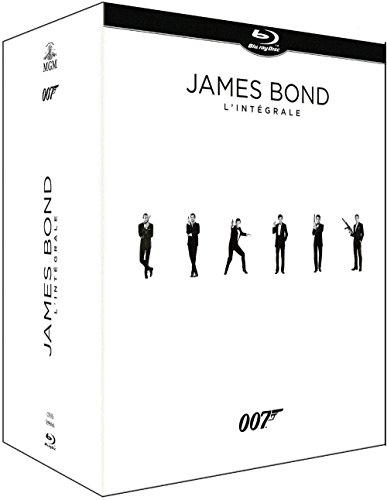 Coffret Blu-Ray James Bond 007: Intégrale des 24 films - Édition Limitée