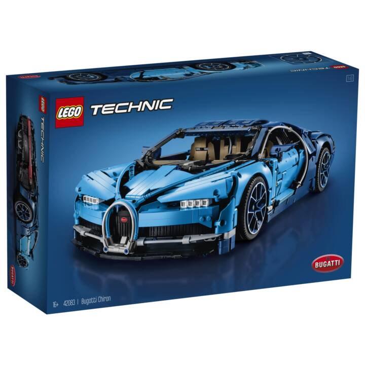 Jeu de construction Lego Technic Bugatti Chiron n°42083 (Frontaliers Suisse)