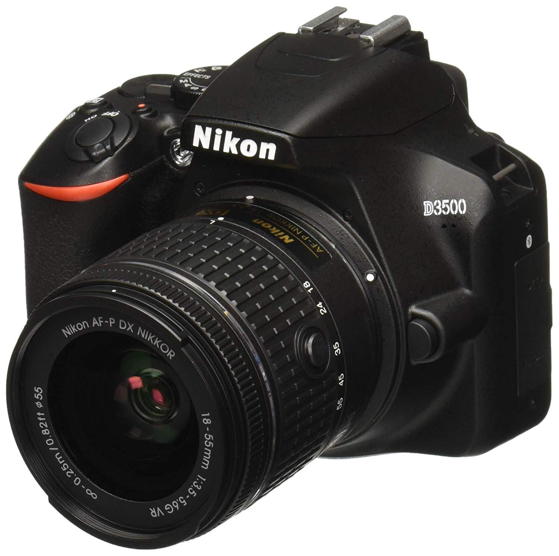 Appareil photo numérique Reflex Nikon D3500 + Objectif AF-P DX 18-55 f/3.5-5.G VR (+ 30 euros en carte cadeau)