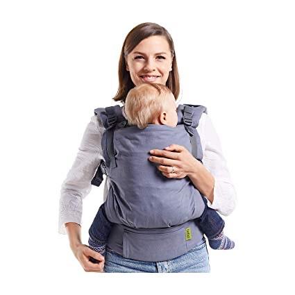 Porte bébé Boba X - Gris (maman-naturelle.com)